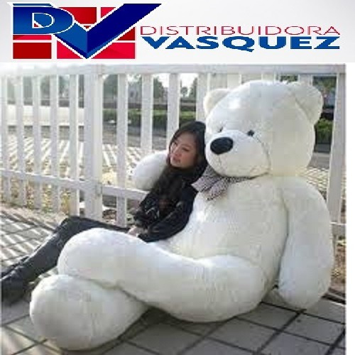 oso gigante de peluche 2 metros de llargo full amor