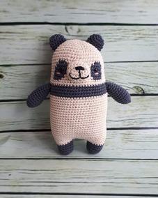 Oso panda Amigurumi, crochet paso a paso - YouTube | 284x227