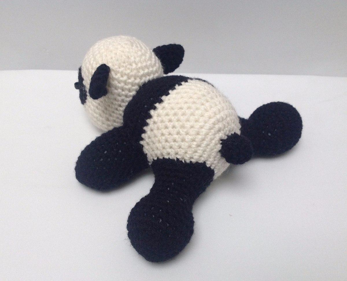 Amigurumi Munecos Disney : Oso Panda Amigurumi / Muneco Tejido - USD 180.00 en Mercado ...