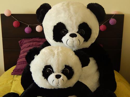 oso panda de peluche 120 cm, oso grande
