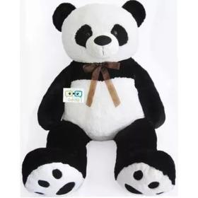 Oso Panda De Peluche Gigante 1.35 Mts. Envio Gratis!!!