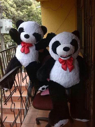 oso panda gigante con sonrisa 120 cms  +  envio gratis