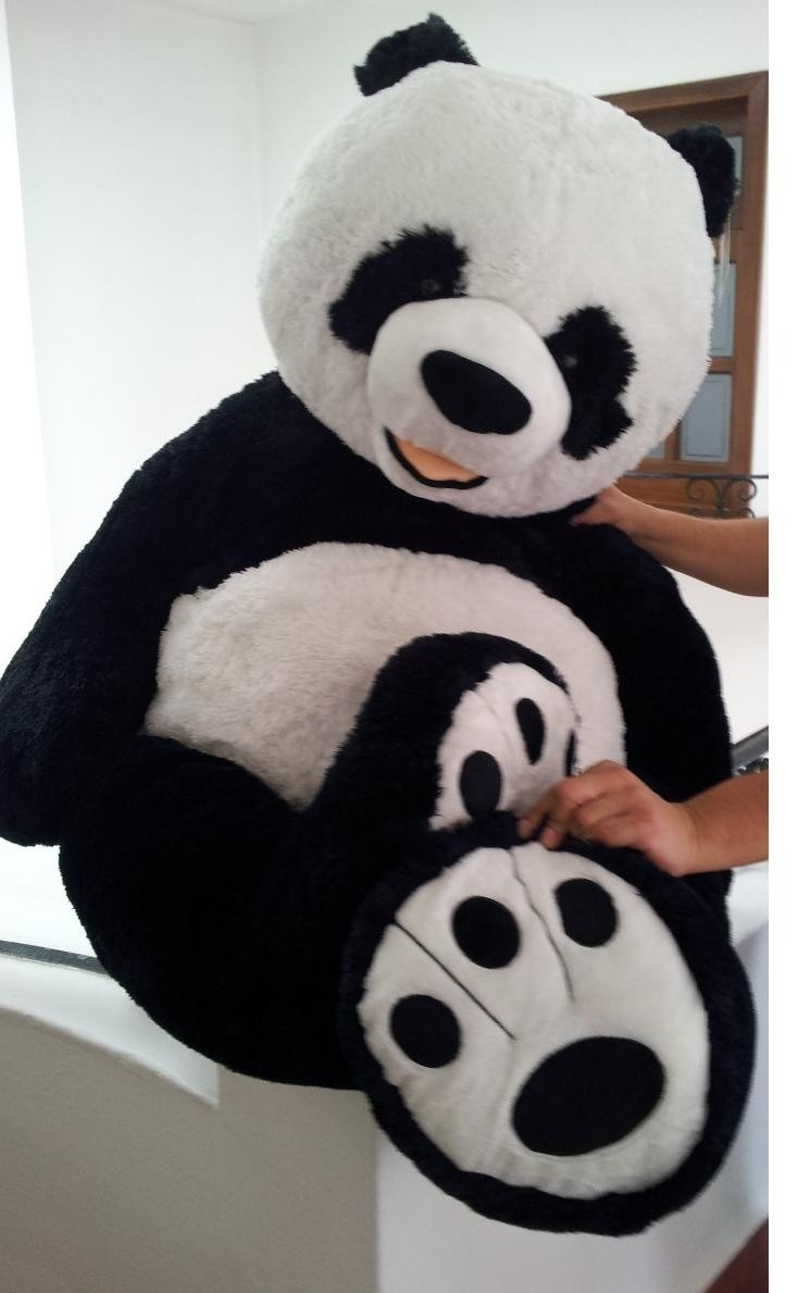 oso panda gigante de peluche mt un regalo especial 1 en mercado libre. Black Bedroom Furniture Sets. Home Design Ideas