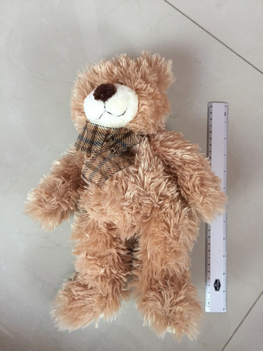 oso peluche 35 cm color café suavecito