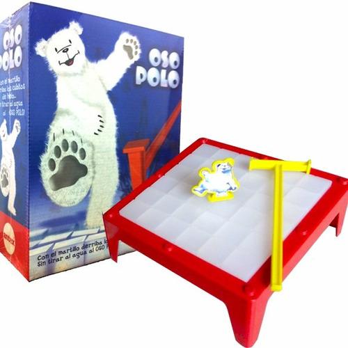 oso polo hielo juego mesa antex original tv casa valente