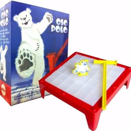 oso polo juego de mesa martillo y hielos antex mundo manias