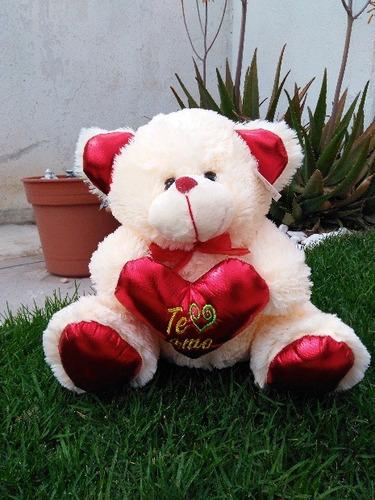 osos de peluche 45 cms con corazon