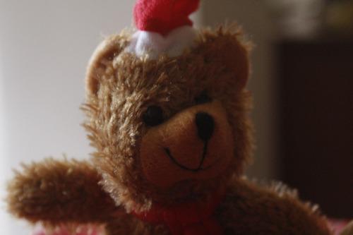 osos peluches dia de los enamorados navidad c/u ( 2 colores)