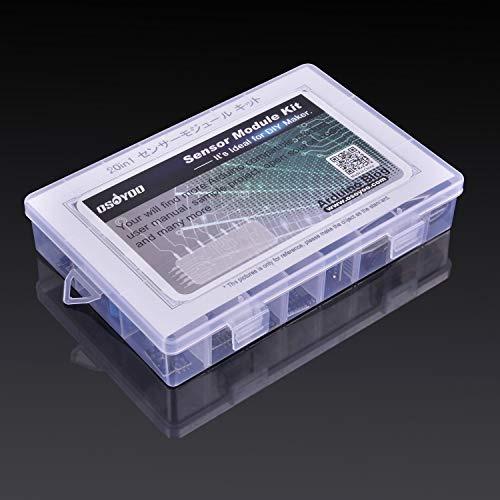 Osoyoo Sensor Kit 20 Módulos Para Arduino Uno R3 Mega2560 Me
