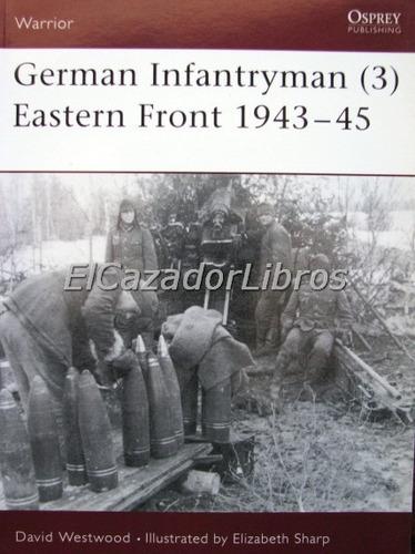 osprey - german infantryman (3) eastern front wehrmacht