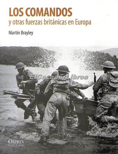 osprey los comandos - segunda guerra churchill hitler