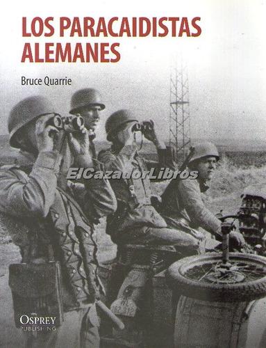 osprey los paracaidistas alemanes segunda guerra
