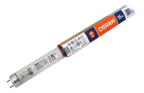 osram - lamp + reator + soq. puritec 15w uv-c germicida