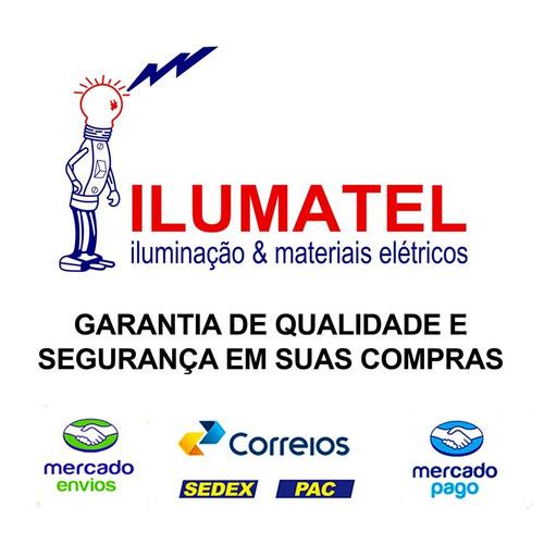 osram - lamp + reator + soq. puritec 30w uv-c germicida