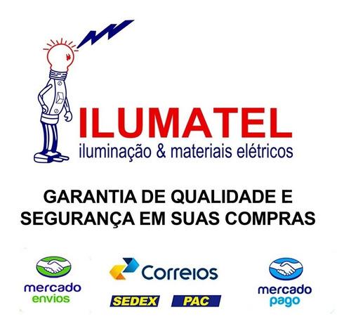osram - lamp + reator + soq. puritec fluor 4w uv-c germicida