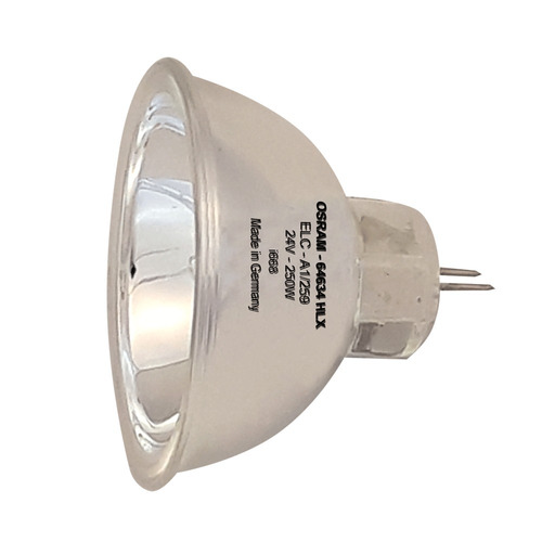 osram - lâmpada elc dicroica 250w / 24v - scan moving efeito