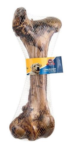 osso natural defumado gigante 40cm para cães grande