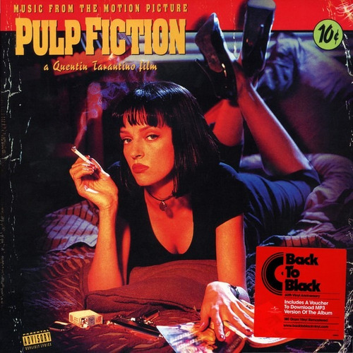 ost pulp fiction vinilo nuevo y sellado