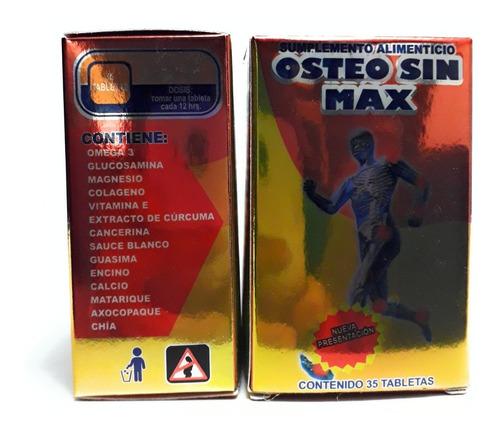 osteo sin max pyr tex 35 tabletas (2 frascos) envio full