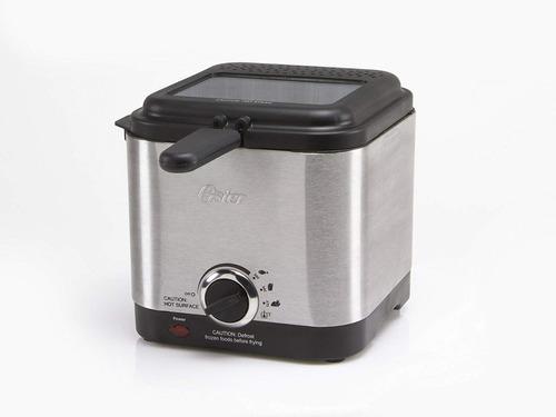 oster ckstdf102-ss freidora eléctrica 900 watts 1.5 litros