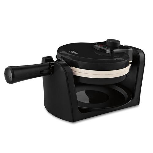 oster ckstwfbf10w-eco dura cerámica flip waffle maker, blano