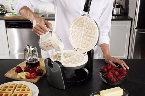 oster ckstwfbf10wc-eco duraceramic tirón wafflera