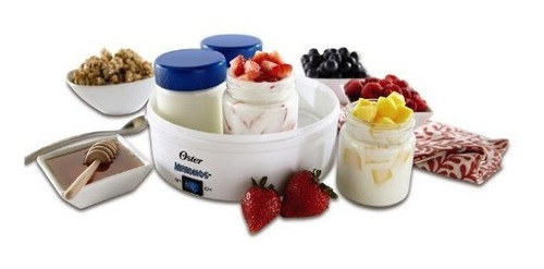 oster ckstym1001 maquina para yogur yogurtera 4 vasos
