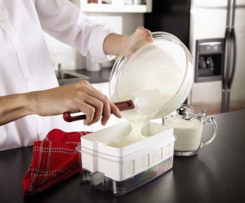 oster ckstym1010 mykonos greek manual yogurt maker 2qu
