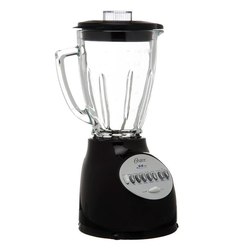 Licuadora oster 14 velocidades slope vidrio bebidas cocina for Utensilios de cocina licuadora