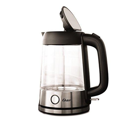 oster illuminating kettle tetera hervidor eléctrico 1.7 l