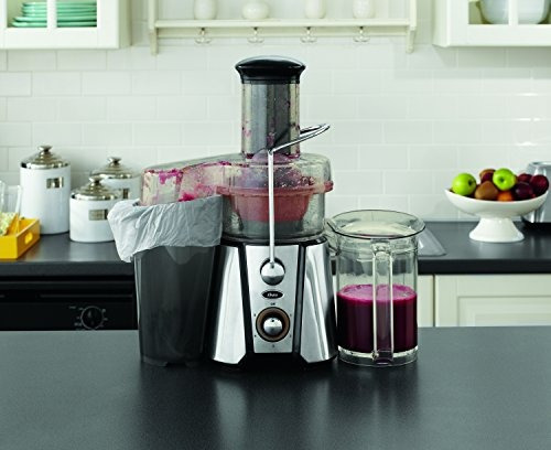 oster jussimple 5 speed easy clean juice extractor with extr
