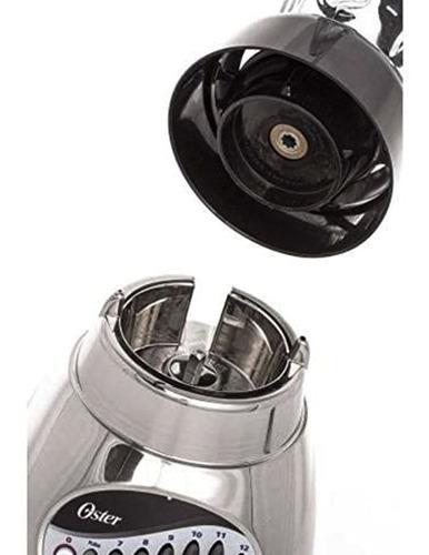 oster licuadora 450w vaso de vidrio 1.25l 12 velocidades