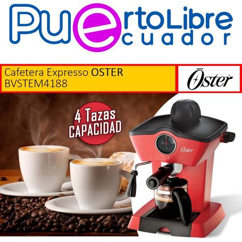 oster maquina para cappuccino - expresso - espumar cafetera