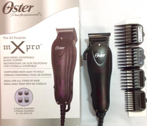 oster maquina peluqueria mx pro  liviana,ajustable, rápida