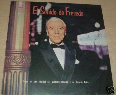 osvaldo fresedo el sonido del tango  vinilo argentino