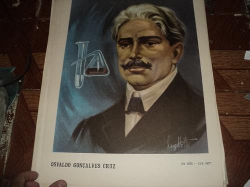 osvaldo gonçalves cruz poster 35x50cm gravura