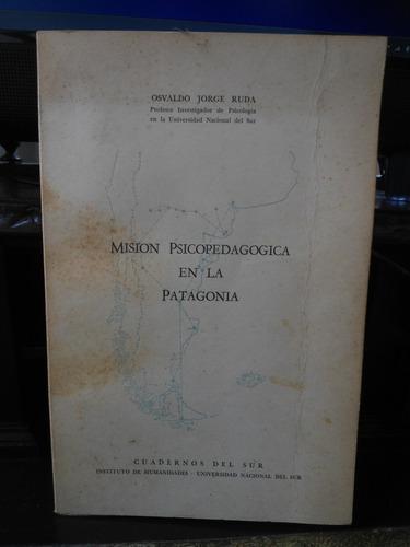 osvaldo jorge ruda  misión psicopedagógica en la patagonia