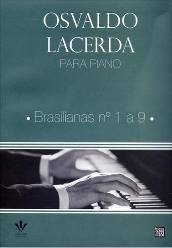 osvaldo lacerda para piano brasilianas 1 a 9