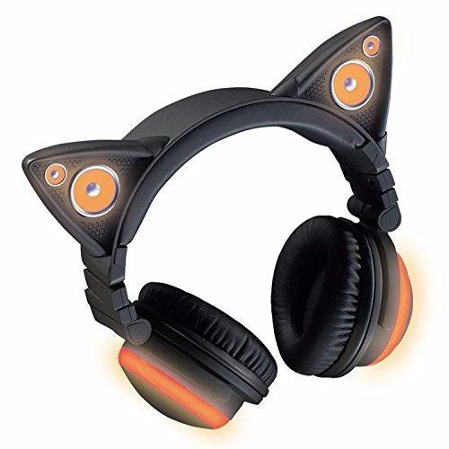 otaku audifonos wireless bluetooth cat ear headphones