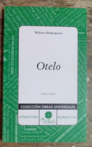 otelo william shakespeare.