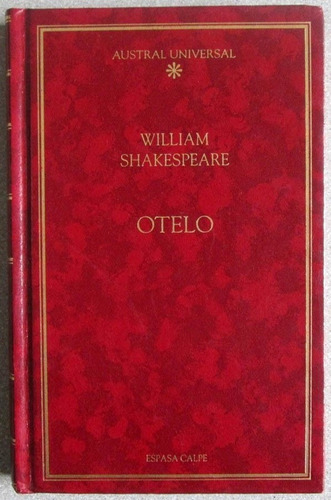 otelo - william shakespeare - espasa