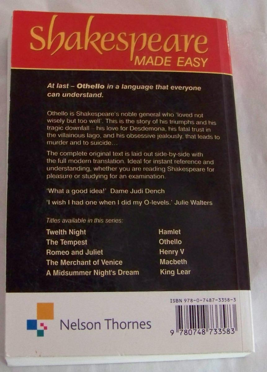 othello - shakespeare - made easy - kel ediciones. Cargando zoom.