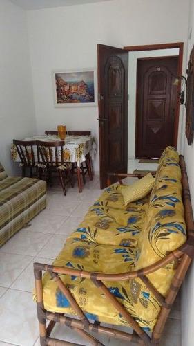 ótima apartamento na praia do sonho, em itanhaém - ref 4347