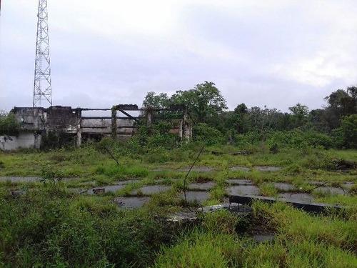ótima área de antiga fábrica, no jardim aguapeú - ref 3495
