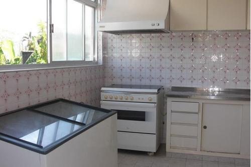 ótima casa 4 dormitórios mais edícula - próxima à praia do tombo - guarujá - ca0060