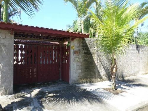 ótima casa com 3 dorm. no lado praia, itanhaém-sp, confira
