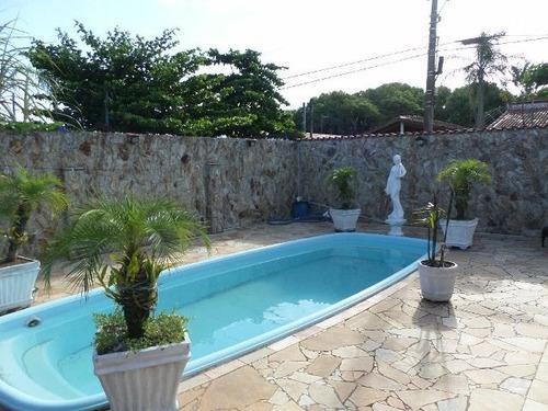 ótima casa com piscina e 2 quartos - ref 4030-p