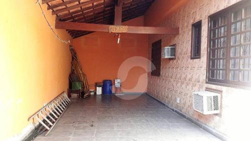 ótima casa dois quartos com área de lazer - ca0953