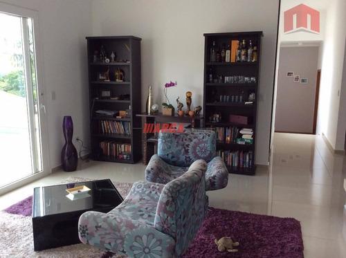 otima casa em condominio fechado em atibaia, 04 suites sendo 01 master, 234,00m² 03 vagas - ma3255
