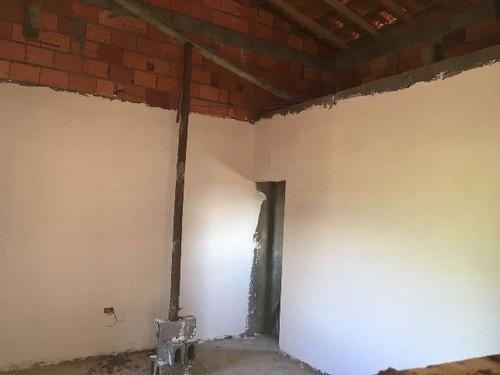 ótima casa em fase de acabamento no jardim regina - ref 4043